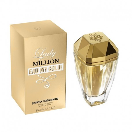 Paco Rabanne Lady Million Eau My Gold 80 ML