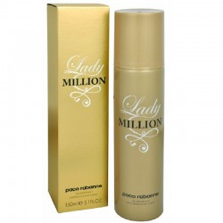 Paco Rabanne Lady Million Deodorante Spray 150 ML