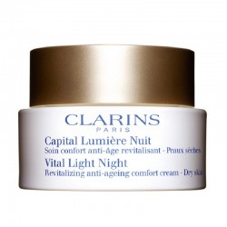 Clarins Capital Lumière Crema Antietà Rivitalizzante Notte Pelle Secca 50 ML