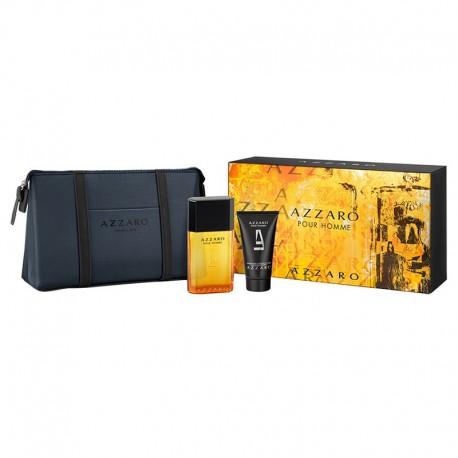 Azzaro Pour Homme Cofanetto EDT 50 ML+Gel Doccia 50 ML+Toilet BAG