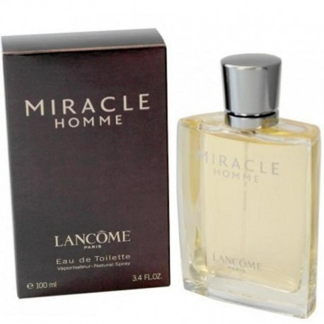 Lancome Homme Ml Miracle 100 Edt 1J3lFcTK