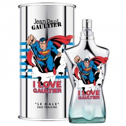 "Jean Paul Gaultier I Love Gaultier ""Le Male"" Superman eau Fraiche 125 ML"
