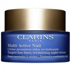 Clarins Multi-Active Crema Notte Prime Rughe Pelle Normle o Secca 50 ML