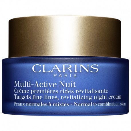 Clarins Multi-Active Crema Notte Prime Rughe Pelle Normle o Mista 50 ML