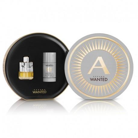 Azzaro Wanted EDT 50 ML + Deodorante Stick sans alcool 75 ML