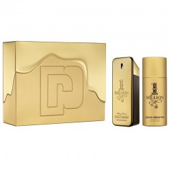 Paco Rabanne One Million EDT 100 ML + Deodorante Spray 150 ML