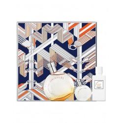 Hermès Eau des Meirveilles EDT 50 ML + Miniatura 7.5 ML + Latte Corpo 40 ML